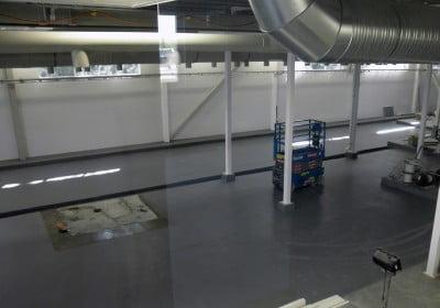 Industrigolv - ATB-300® SL, Ytcenter i Upplands Väsby AB, Märsta