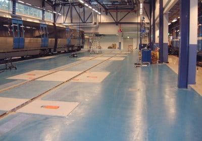 Reparation av tåg