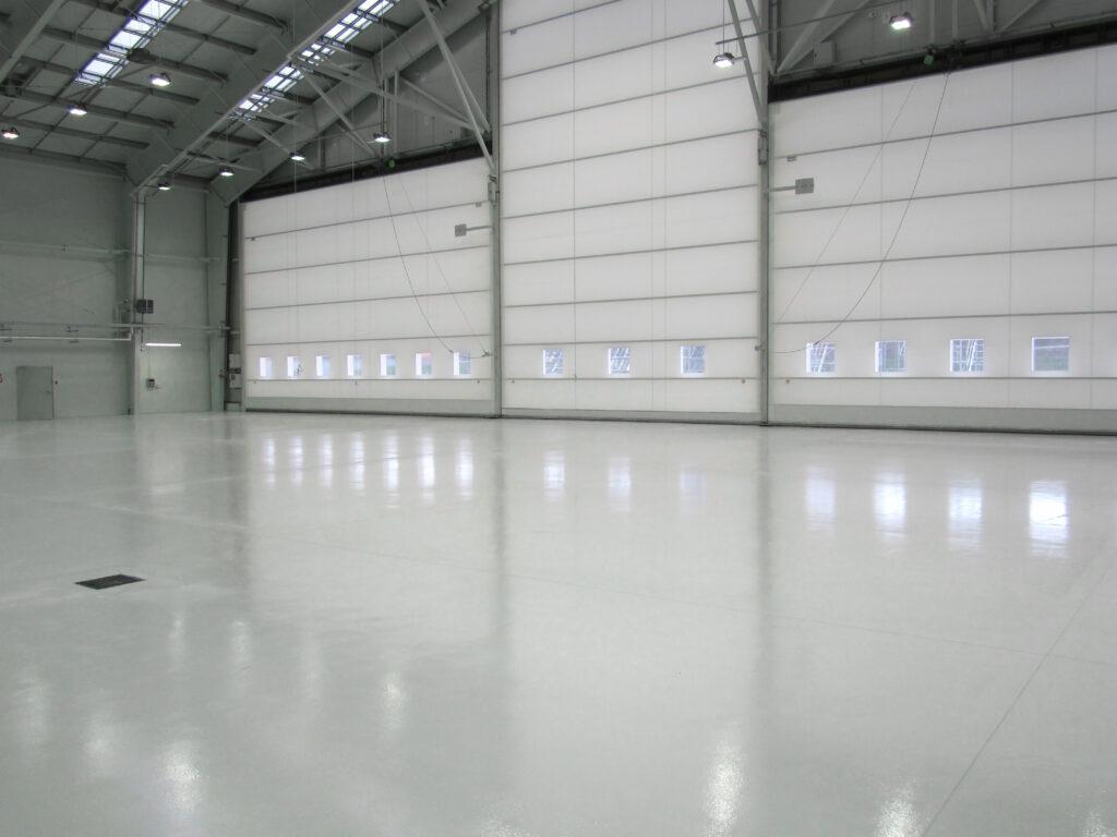 Industrigolv hangar